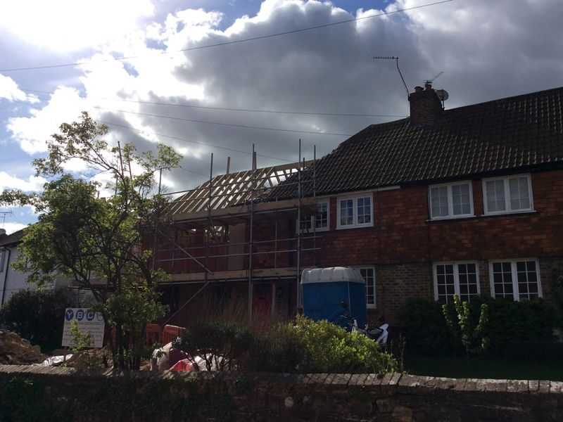 sevenoaks building extension roofing tiling  2